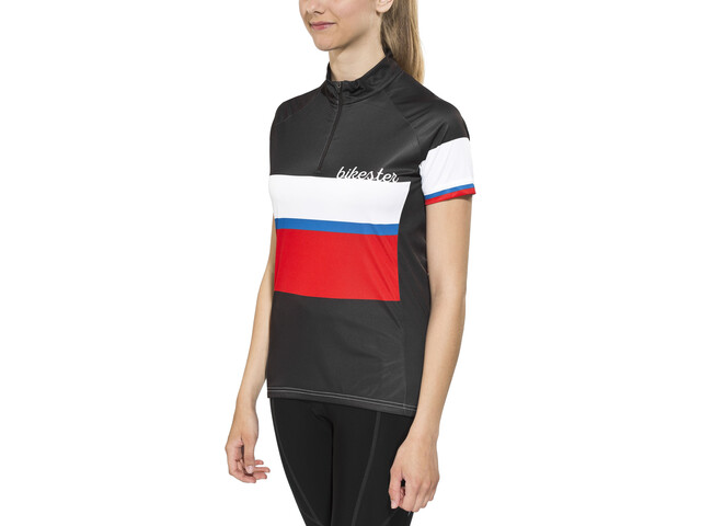 Bikester Basic Team Jersey Women black/red